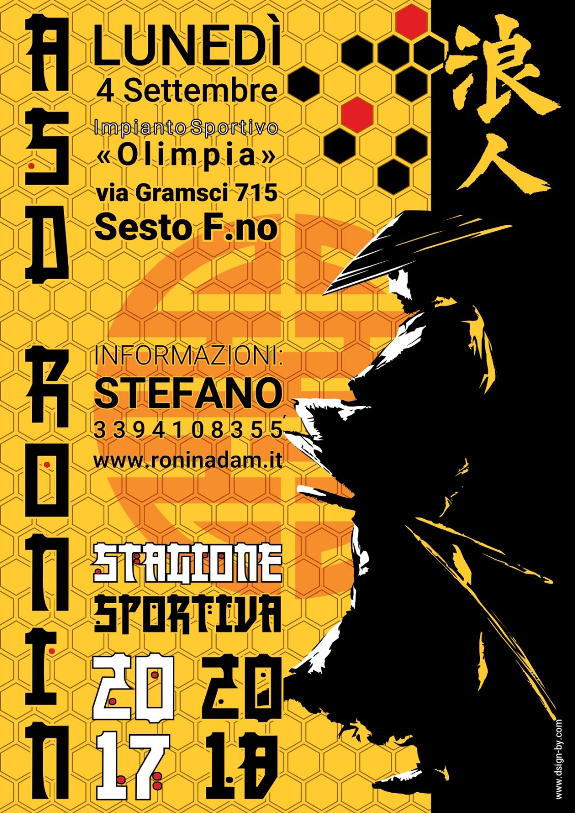Ronin stagione 17-18