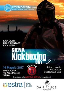 Siena Kickboxing Day 2 locandina