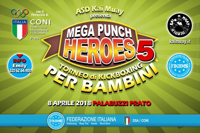 Mega punch heroes 5